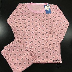 Pijama Infantil 100% Algodão GATINHOS