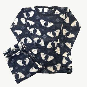 Pijama Infantil Soft URSO POLAR