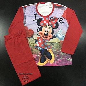 Pijama Infantil MINNIE