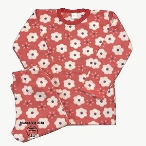 Pijama Infantil Soft FLORES