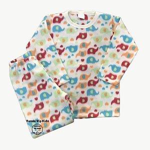 Pijama Infantil Soft ELEFANTS COLOR
