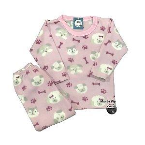 Pijama Infantil Soft CACHORRINHOS OSSOS