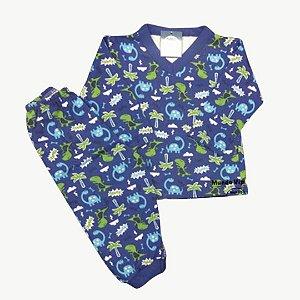 Pijama Flanela Baby DINOS