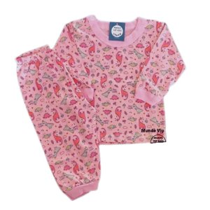 Pijama Algodão Baby SLEEP SAURUS