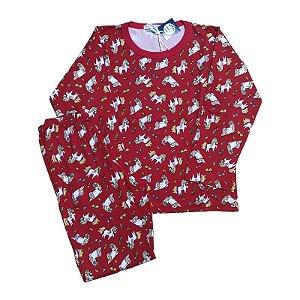 Pijama Infantil 100% Algodão UNICÓRNIOS
