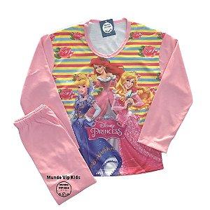 Pijama Infantil PRINCESAS NEW ROSA