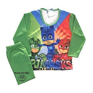 Pijama Infantil PJ MASKS NEW VERDE
