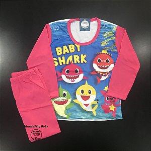 Pijama Infantil BABY SHARK PINK