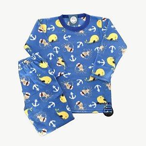 Pijama Infantil Soft FUNDO DO MAR