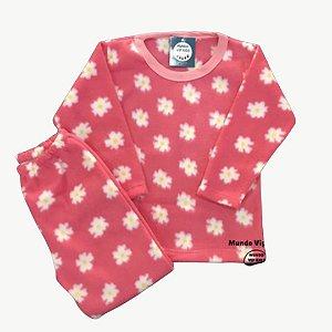Pijama Infantil Soft MARGARIDAS