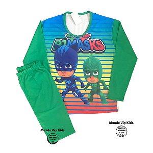 Pijama Infantil PJ Masks Verde