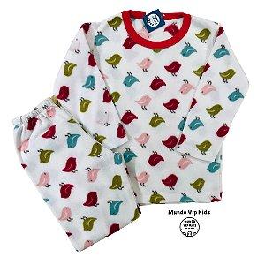 Pijama Infantil Soft BIRDS