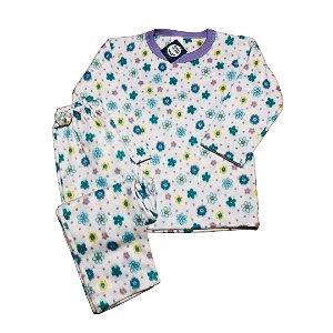 Pijama Infantil Soft MARGARIDAS COLOR