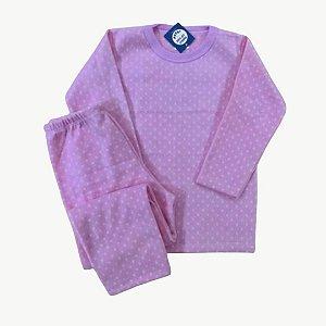Pijama Infantil Soft POÁ ROSA