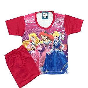 Pijama Infantil PRINCESAS PINK