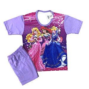 Pijama Infantil PRINCESAS LILÁS