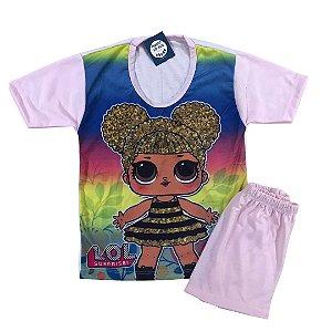 Pijama Infantil LOL ROSA
