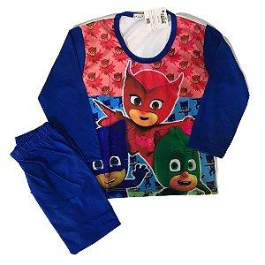 Pijama Infantil PJ MASKS AZUL