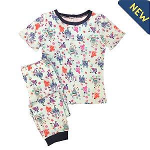 Pijama Infantil SLIM PRINCESAS