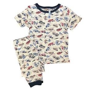 Pijama Infantil SLIM TRUCKS CRU