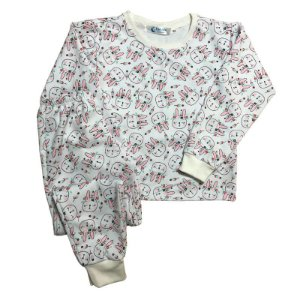 Pijama Flanela Punho BUNNY