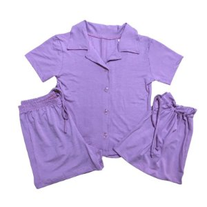Pijama Camisa Infantil ROSA