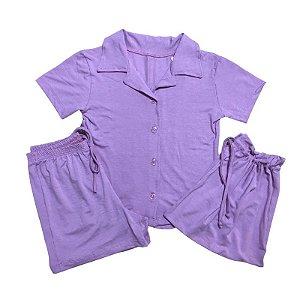 Pijama Camisa Mamãe ROSA