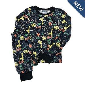 Pijama Infantil SLIM SAFARI