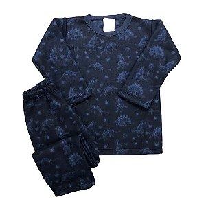 Pijama Infantil Soft DINOS MARINHO