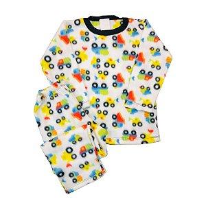 Pijama Infantil Soft TRUCKS COLOR
