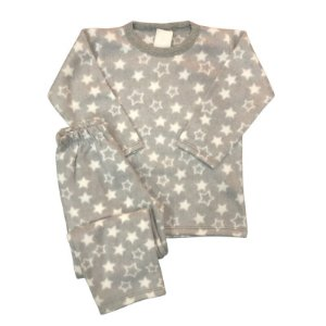 Pijama Infantil Soft ESTRELAS GREY
