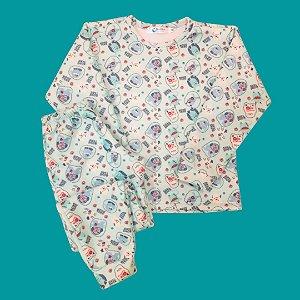 Pijama Infantil Soft Punho MONSTER