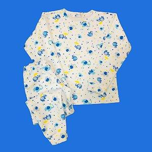Pijama Infantil Soft Punho ELEFANT