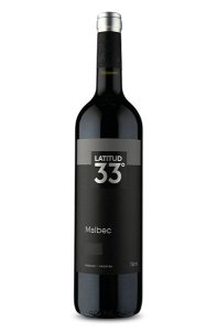 Vinho Tinto Argentino Latitud 33° Malbec  750ml