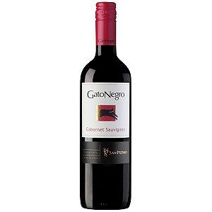 Vinho Tinto Chileno Gato Negro Cabernet Sauvignon 750ml