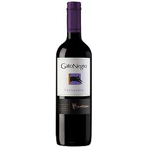 Vinho Tinto Chileno Gato Negro Carmenère 750ml