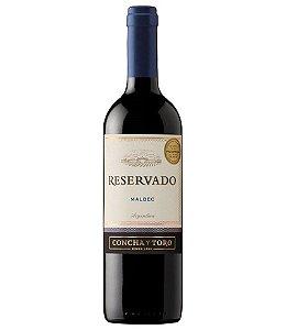 Vinho Chileno Reservado Concha Y Toro Malbec Tinto 750ml