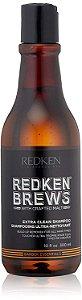 Redken Brews Extra Clean - Shampoo 300ml
