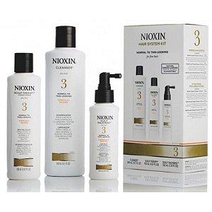 Nioxin Hair System 3 Kit (3 produtos)