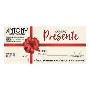 Voucher Antony R$ 150,00