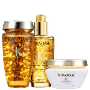 Kit Kérastase Elixir Ultime Masque Originale (3 Produtos)