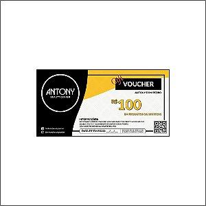 Voucher Promocional R$ 100,00