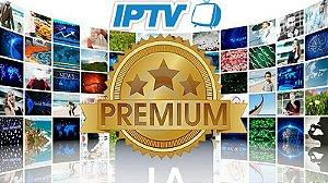 ANUAL - Pacote PREMIUM + de 900 Canais SD + HD + FULL HD + 4K On Demand + Filmes e Series + Premieres + TeleCines + HBO + Canais de Esportes