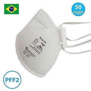 Mascara pff2 Equivalente a N95 Pacote com 50 Mascaras