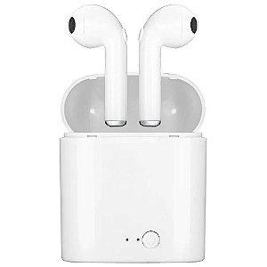Fone de ouvido TWS I7S Bluetooth - Sem fio