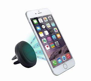 Suporte magnético veicular para Celular e GPS Universal - Ar condicionado