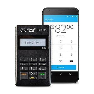 Máquina de Cartão POINT MINI do MercadoPago 100% Original - D150