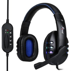 Headset gamer com microfone Knup KP-359