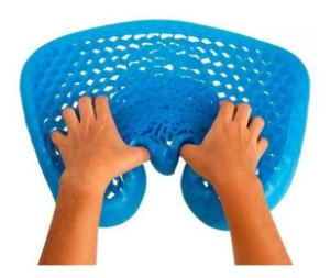Almofada Ortopédica Egg Sit Comfortgel Original Ortho Pauher