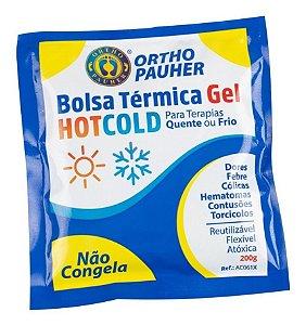 Bolsa Térmica De Gel Quente E Fria Não Congela 200g